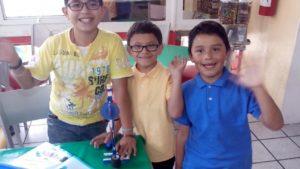 Curso de verano de robótica para niños en coyoacán